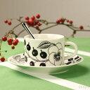 【Paratiisi ティーカップ&ソーサー ブラック】  正規輸入品/ビルガー・カイピアイネンが196...