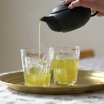 こういうの、来客用に揃えておきたい。夏は冷えた緑茶とか入れたい、東屋の日本製耐熱グラス
