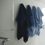 ブルーバスタオル