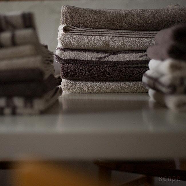 スコープ / ハウスタオル ベージュ バスタオル [scope house towel]