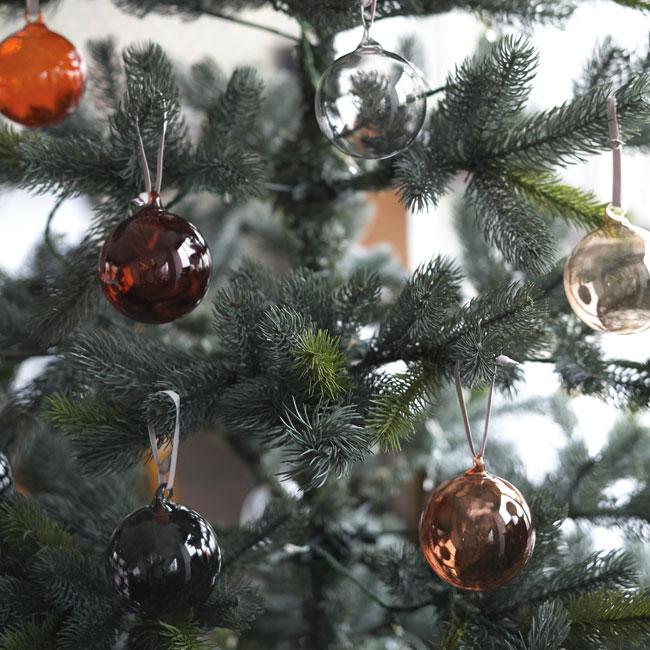 イッタラ / オーナメントボール 5個セット [iittala Ornament クリスマスツリーデコレーション ガラスボール]