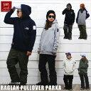 BANPS パーカー スノーボード RAGLAN PULLOVER PARKA SL 2019-20 スノボー ウェア スノボ スキー 裏起毛 メンズ レディース BANPS 1