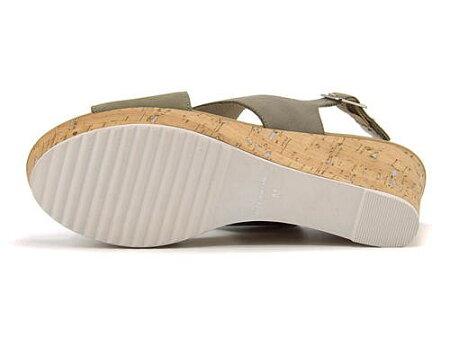 サンダルウェッジソール歩きやすいバックストラップ疲れないレディースカバード美脚軽量クッション性カジュアルデイリートレンドサヴァサヴァcavacava2820033ライトグレー