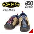 キーン メンズ カジュアル アウトドア スニーカー ジャスパーロックス KEEN JASPER ROCKS 1013301 スターフィッシュ/レーシングレッド