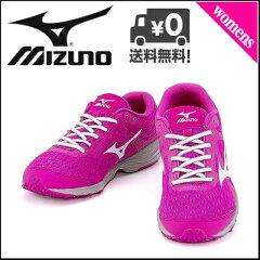 ミズノ プリマ エチュード ランニングシューズ スニーカー レディース W mizuno PRIMA ETUDE 01 ピンク/ホワイト