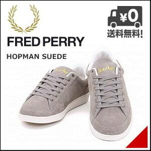 フレッドペリー メンズ ローカット スニーカー コート ホップマン スエード FRED PERRY B6283 ...