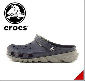 クロックス メンズ スポーツ サンダル 痛くない ぺたんこ 歩きやすい デュエット マックス クロッグ 軽量 クッション性 雨 雪 靴 カジュアル デイリー トラベル オフィス DUET MAX CLOG crocs 201398