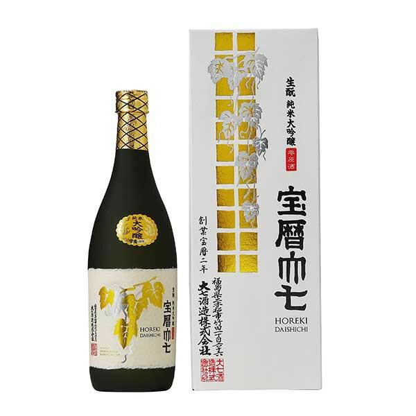 大七 生もと純米大吟醸 宝暦 720ml x 6...の商品画像