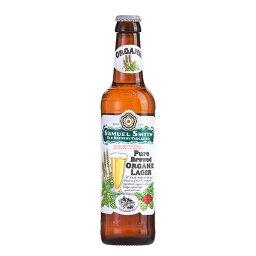サミエルスミス オーガニック ラガー [瓶] 355ml x 24本[ケース販売][NB イギリス ビール] 母の日 父の日 ギフト
