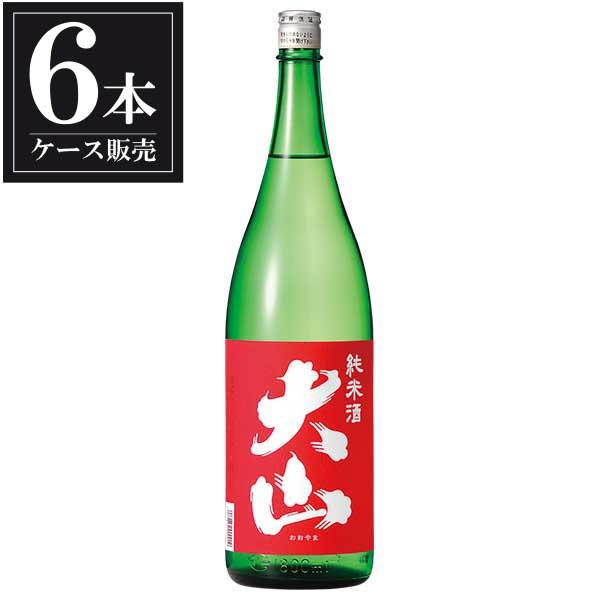 大山 赤 純米 1.8L 1800ml x 6本 [ケース販売] [加藤嘉八郎酒造/山形県 ]