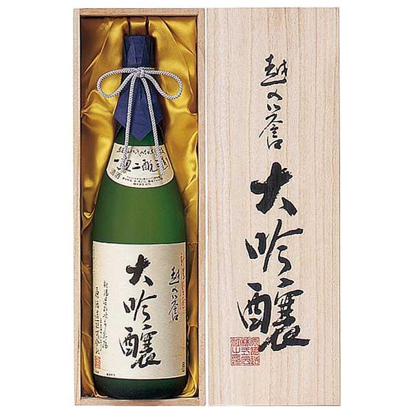 越の誉 大吟醸 1.8L 1800ml x 6本 [ケース販売] [原酒造/新潟県 ]:リカータイム