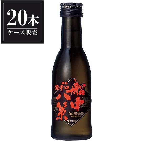 司牡丹 純米 船中八策 180ml x 20本 [ケース販売] [司牡丹酒造/高知県 ]