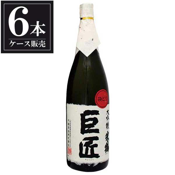 米鶴 巨匠 大吟醸 1.8L 1800ml x 6本 [ケース販売] [米鶴酒造/山形県 ]:リカータイム