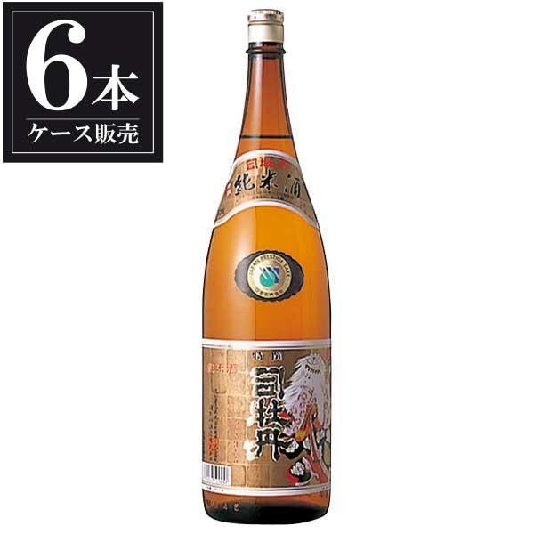 司牡丹 特撰純米酒 1.8L 1800ml x 6本 [ケース販売] [司牡丹酒造/高知県 ]