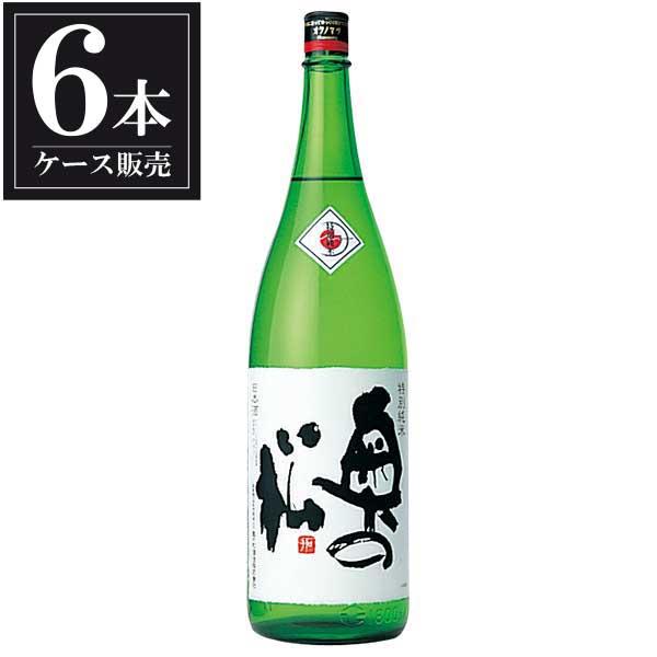 奥の松 特別純米 1.8L 1800ml x 6本 [ケース販売] [奥の松酒造/福島県 ]