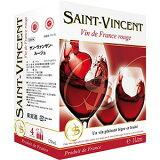 サン ヴァンサン ルージュ 3L 3000mバッグ イン ボックス ワイン SAINT VINCENT ROUGE [フランス/赤ワイン]gift