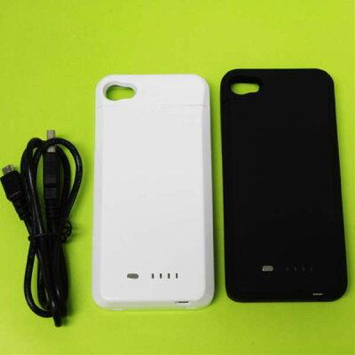 iphone4 バッテリー内蔵ケースで快適ライフiphone 4 バッテリージャケット FITS Pod1700mAh...