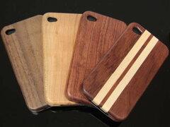 木の温もりとハイテクが調和するiPhone4 Woodケース 全4種類 iPhone4 Wood(ウッド・木)カバ...