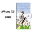 Apple iPhone XS 手帳型 スマホケース カバー 【EK9...