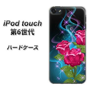 iPod touch 6 第6世代 ハードケース / カバー【1168 ティンカーベルのバラ 素材クリア】 UV印刷 ★高解像度版(iPod touch6/IPODTOUCH6/スマホケース)