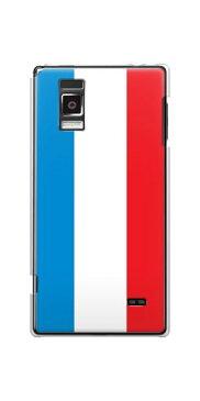 Optimus G L-01E LGL21用光るスマホケース【673 フランス】【オプティマスG/L01E/スマホ/ケース/カバー】(メール便可/メール便対応 可)