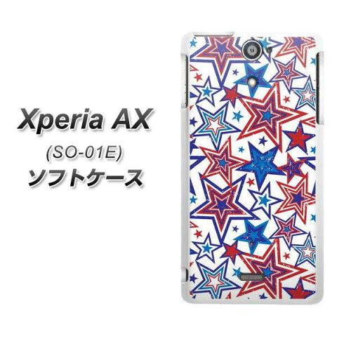 docomo Xperia AX SO-01E TPU ソフトケース / やわらかカバー【612 星のオリンピック/素材ホワイト】 UV印刷 シリコンケースより堅く、軟性のある優れたスマホケース TPU素材(エクスペリア AX/SO01E/スマホ/ケース)