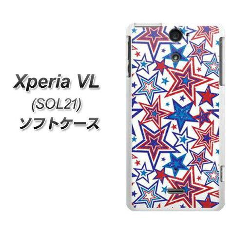 au Xperia VL SOL21 やわらかケース(TPU ソフトケース)【612 星のオリンピック/素材ホワイト】 UV印刷 シリコンケースより堅く、軟性のある優れたスマホケース TPU素材(エクスペリア VL/SOL21/スマホ/ケース)