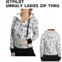 SALE★JETPILOT★UNRULY LADIES ZIP THRU★レディース★パーカー★W16013★ホワイト★8★