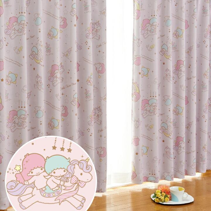 カーテン・ブラインド, ドレープカーテン  1 2100cm110150cm Little Twin Stars Kiki Lala Made in Japan SanrioZone SB-319