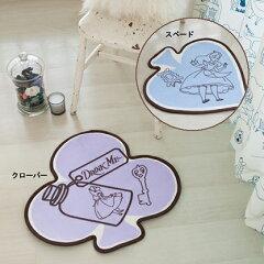 【Disney/ディズニー】不思議の国のアリスキャラクター玄関マットスペードorクローバー【D…