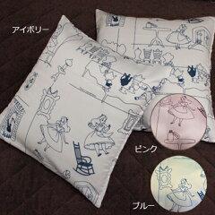 【Disney/ディズニー】アリス座布団カバー 2枚組セット 座布団カバー[SB-3]【Dis…