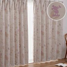 【送料無料】ミッキー&フレンズ2級遮光カーテン
