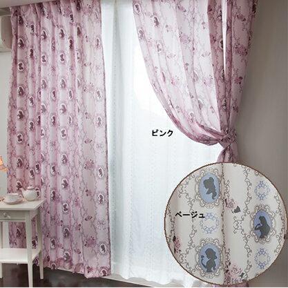 プリンセスクラシカルプリンセス遮熱カーテン2枚セットオーダーカーテン幅100×110〜150cm丈 キャラクター【Disneyzone Disney/ディズニー】 [NDY-14]