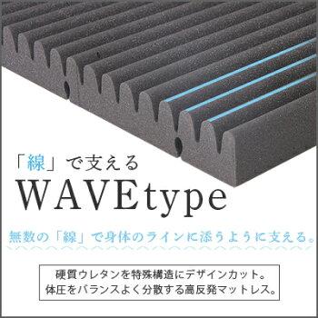 ライズ東京『スリープマジックマットレスパッドウェーブタイプ』