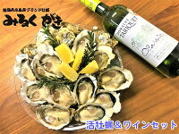 【半額セール】みるくがきSサイズ20個+ベストオイスターワインセット福岡県糸島産真牡蠣生食活生牡蠣ワインワインセット通常価格9,600円↓半額セール