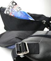 大容量で防水モデルのショルダーバッグ