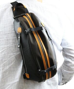 スリングバッグ SEAL シール 【 バッグ ボディバッグ 防水・耐水 廃タイヤ タイヤチューブ 人気 日本製 メンズ 黒 】