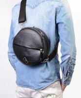 丸い形の防水ショルダーバッグ