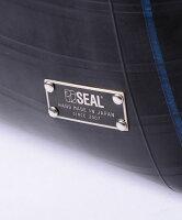 トートバッグWEAR/SEAL(シール)【ファスナー付き/A4/大きめ/防水/廃タイヤ/着せ替え/カスタム/タイヤチューブ/人気/日本製/メンズ/黒】【あす楽】【防水鞄】