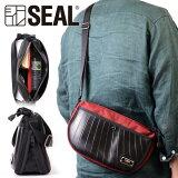 ラウンド サコッシュバッグ エクスパンダブル BEATTEX SEAL シール バッグ ショルダーバッグ 防水 耐水 廃タイヤ タイヤチューブ 人気 日本製 メンズ プレゼント 父の日