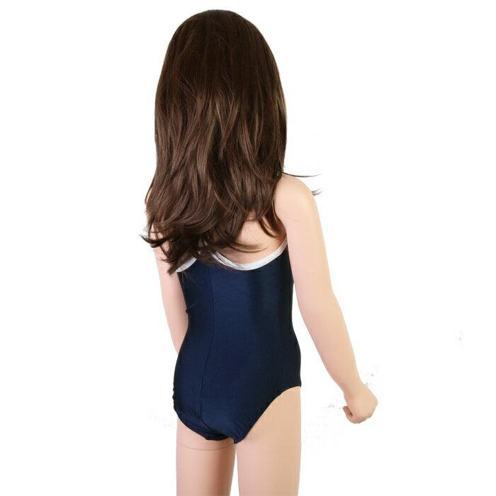 【あす楽】【メール便対応】スクール水着?T&CSurfDesignsパイピングワンピース型/女児110-170cm300136