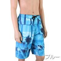 【あす楽】(パケット便送料無料)PIKO(ピコー)椰子ロゴサーフパンツインナー付(メンズ水着)817002