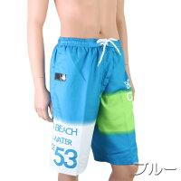 【あす楽】(パケット便送料無料)BODYGLOVE無地風ロゴ柄サーフパンツインナー付(メンズ水着)X111-701