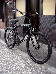 ★★当店限定モデル!★ ビーチクルーザー 自転車 ★ビーチクルーザー 自転車 ◆シマノ6段変速...