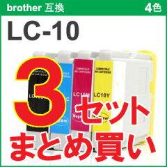 【レビューを書いて送料無料】 LC-10 純正 互換インクカートリッジ LC-10 インク・カートリッジ...
