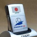 1997年製未使用品Zippo/ジッポーライター サッカー/フランスワールドカップ98/JAPAN