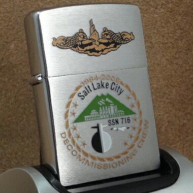 バッグ・小物・ブランド雑貨, その他 2007Zippo Salt Lake City SSN716