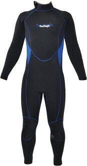 男子 5 毫米潛水衣超彈力超跨度 15