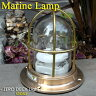 【Marine Lamp】マリンランプ・ゼロデッキライトゴールド (電球別売)