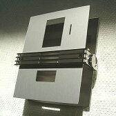 【Style F Modern Sign】 インターホンカバー(アルミアルマイトタイプ・ステンレスタイプ)